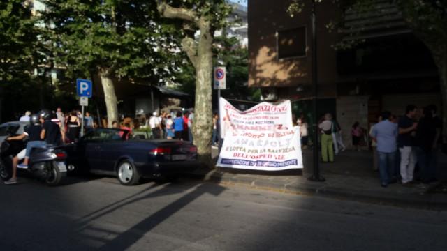 Manifestazione a difesa della Sanità-Eboli 2