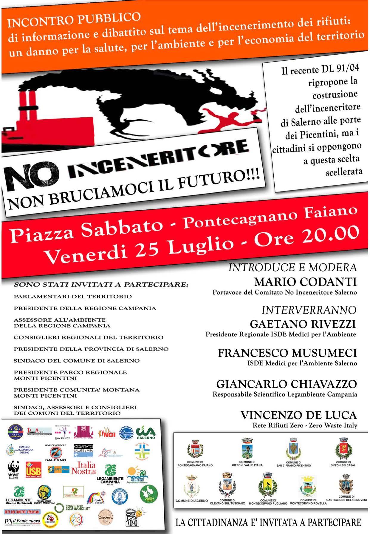 Manifesto-NO-Inceneritore