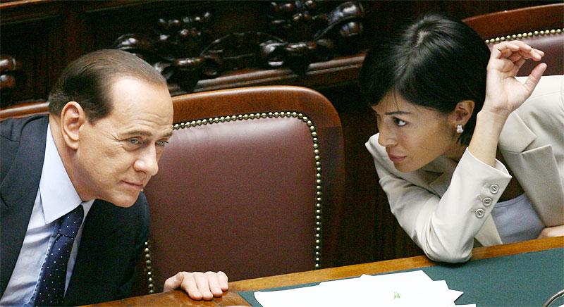 Silvio Berlusconi - Mara Carfagna