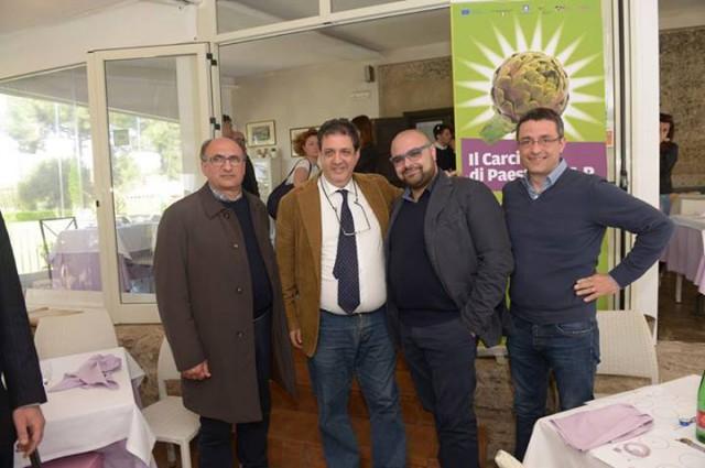 Marcello-Vitolo-con-Luciano-Pignataro-Alfonso-Esposito-Emilio-Ferrara
