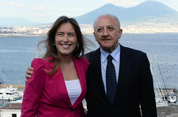 Maria Elena Boschi-Vincenzo De Luca