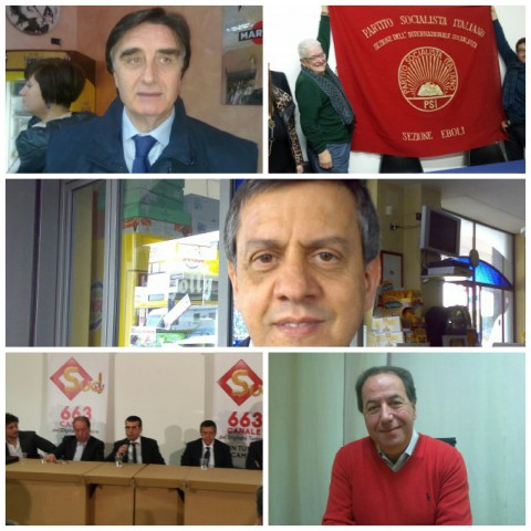 Marra-PSI-Cuomo-Cicia-Candidati PD Primarie.