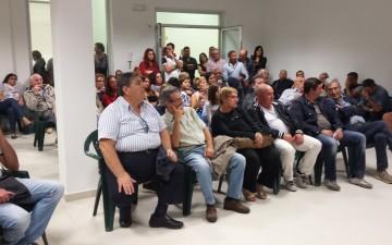 Conferenza stampa-Nuovo Psi-Massimo Cariello-Cosimo Pio Di Benedetto-Stefano Gallotta-Anna Senatore-Pubblico