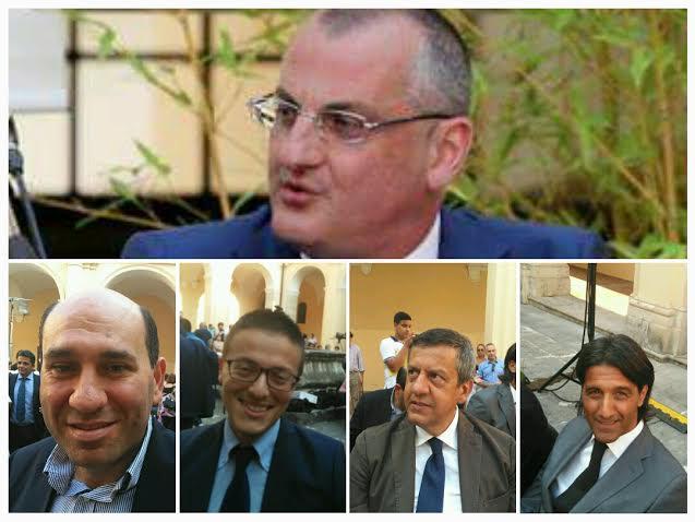 Massimo Cariello-Pasquale Infante-Damiano Cardiello-Antonio Cuomo-Francesco Rizzo