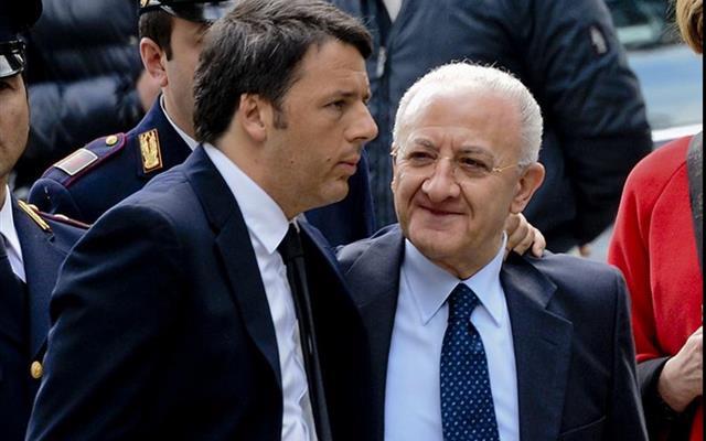 Matteo Renzi-Vincenzo De Luca-2