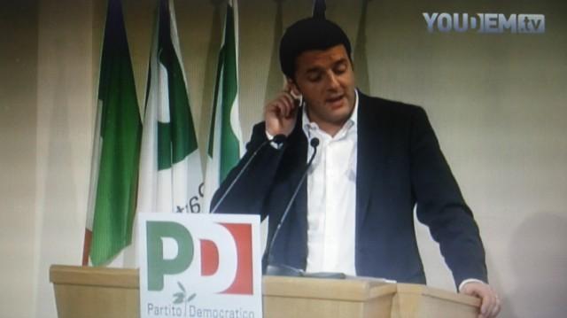 Matteo-RenziDirezione Nazionale-PD