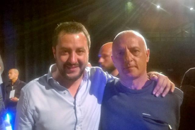Matteo Salvini-Mariano Falcone