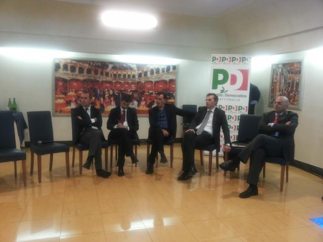 Mauro Maccauro-Andrea Orlando-Nicola Landolfi-Piero Lascaleia-Battipaglia-Festambiente-PD-Hotel San Luca