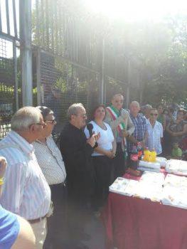 Mercatino Rionale Rione della Pace-Inaugurazione-don Andrea Arminio