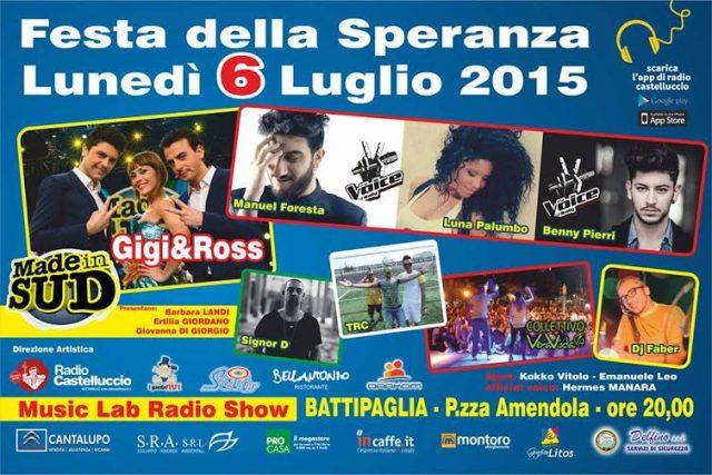Musiclab-radio castelluccio-festa della Speranza