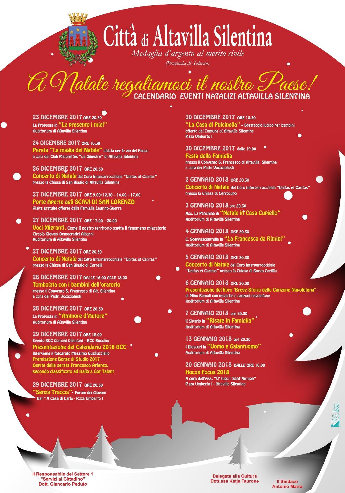 Natale a Altavilla Silentina