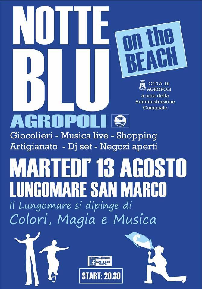 Agropoli Notte blu 13 agosto