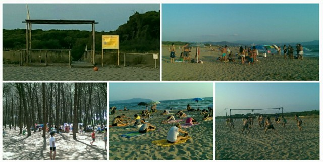 Oasi dunale Legambiente Paestum-mare-giochi-yoga