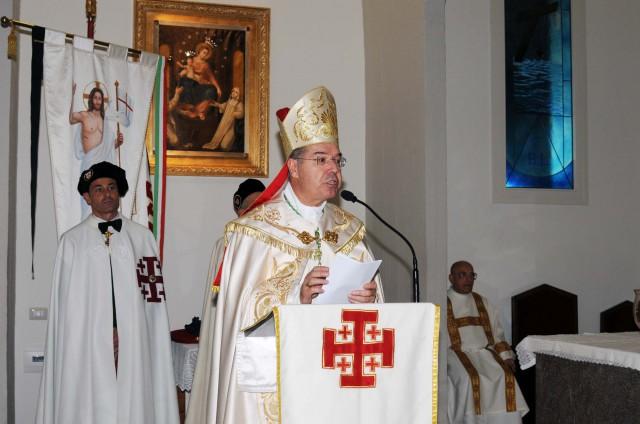 Ordine Equestre del S. Sepolcro di Gerusalemme-cerimonia--2