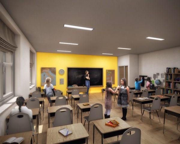 Foto-progetto Scuola Fiorentino Battipaglia Aula