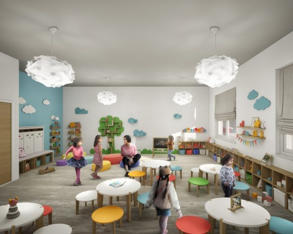 Foto-progetto Scuola Fiorentino Battipaglia Aula Ludica