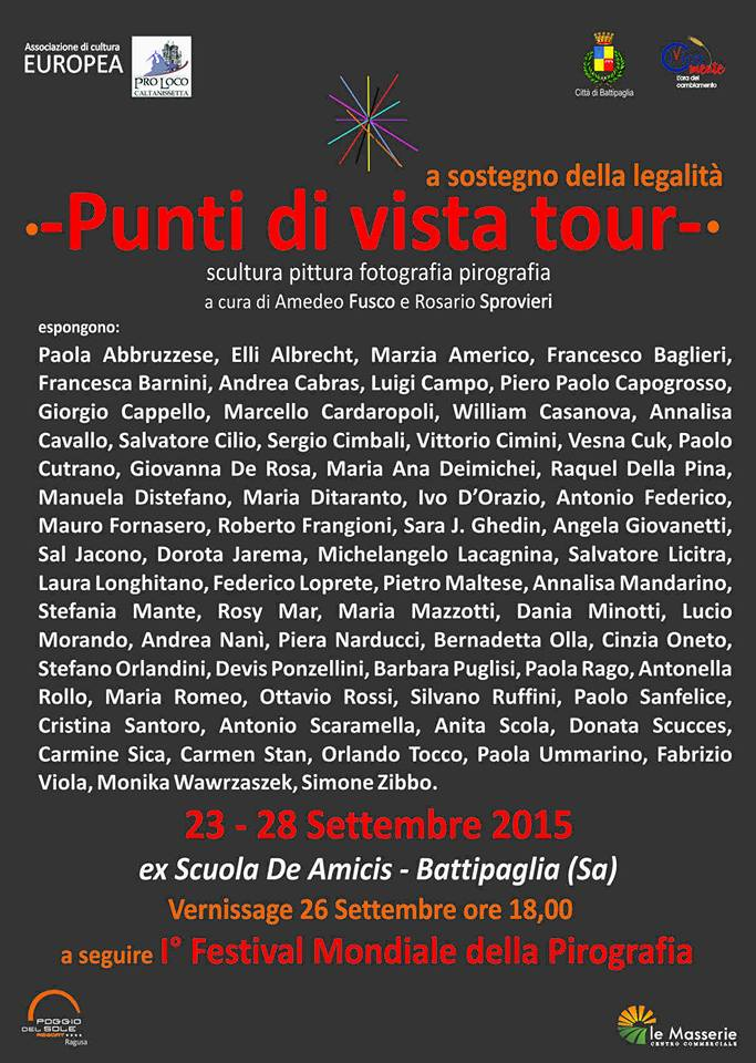 Punti di Vista Tour- Artisti