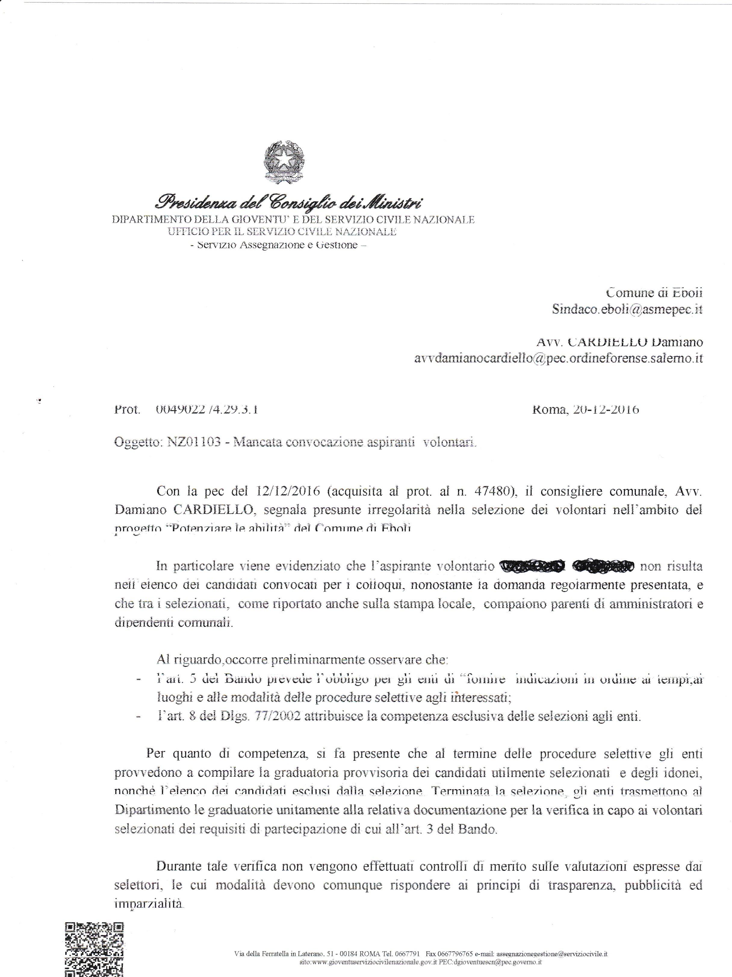 Sospensione servizio civile eboli-1