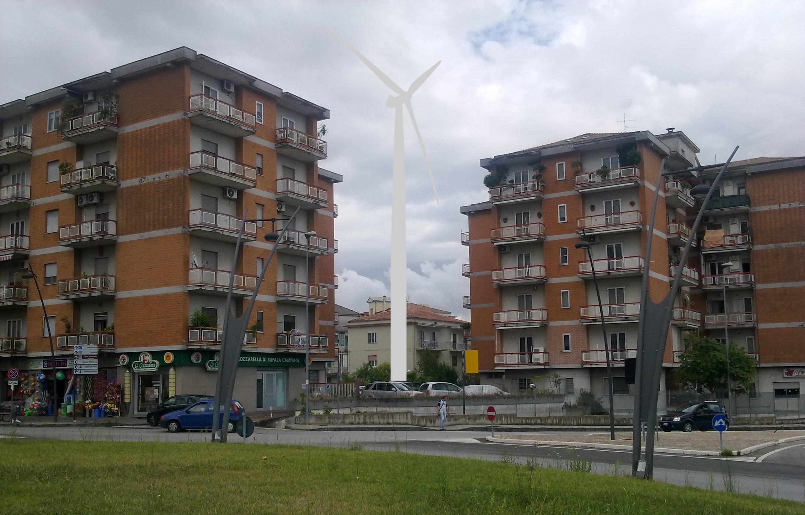 E tra i palazzi spunta l autorizzazione di una pala eolica for Palazzi di una storia