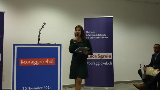 Paola Masarelli-Sala Ritz-Eboli-Manifestazione Sgroia