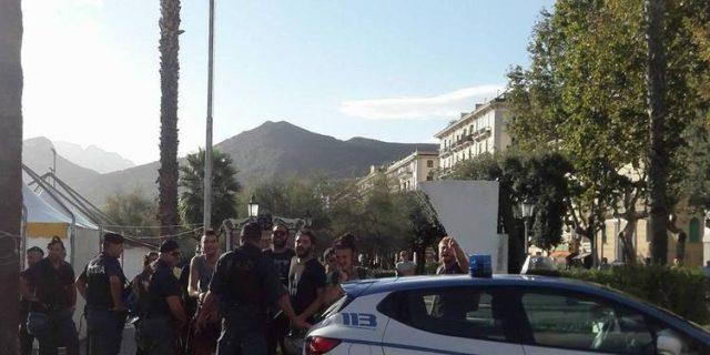 Passeggiata per la sicurezza-Lega-Salerno
