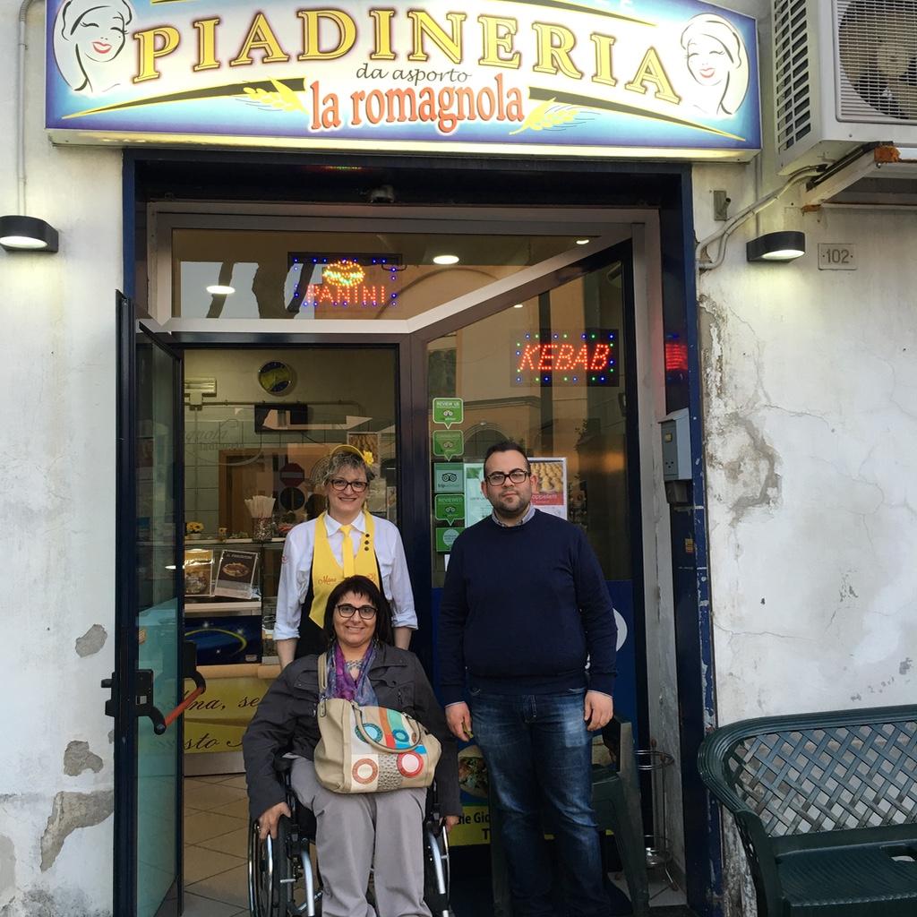 Piadineria La romagnola-Mi Girano Le ruote