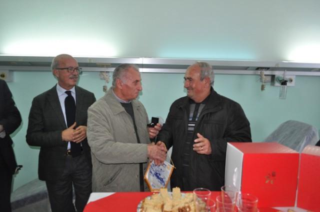 Premiazione a Francesco Miniaci