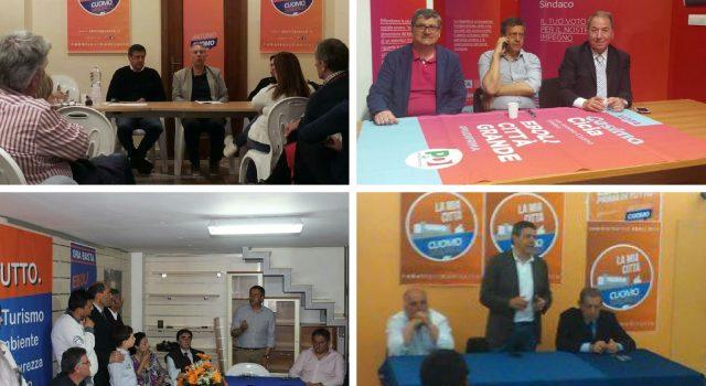 Presentazione liste centrosinistra con Antonio Cuomo