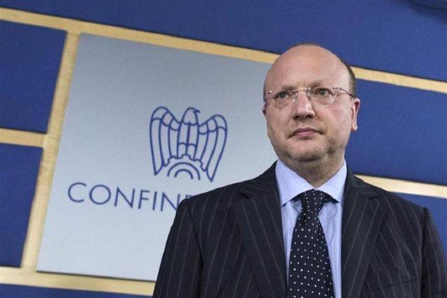 Presidente confindustria Vincenzo Boccia