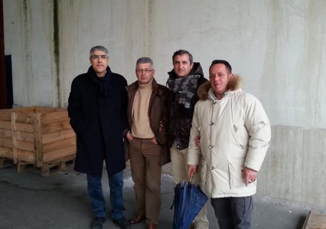 Rappresentanti-sindacali-paif-Carmine-Palma-Giovanni-Bartolini-Giuseppe-Citro-Bruno-Carucci.