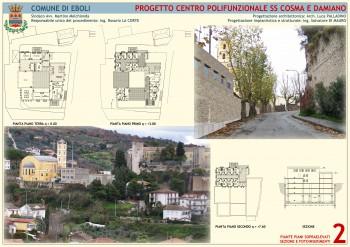 Rendering-Centro Polifunzionale-SS Cosma e Damiano-Eboli.