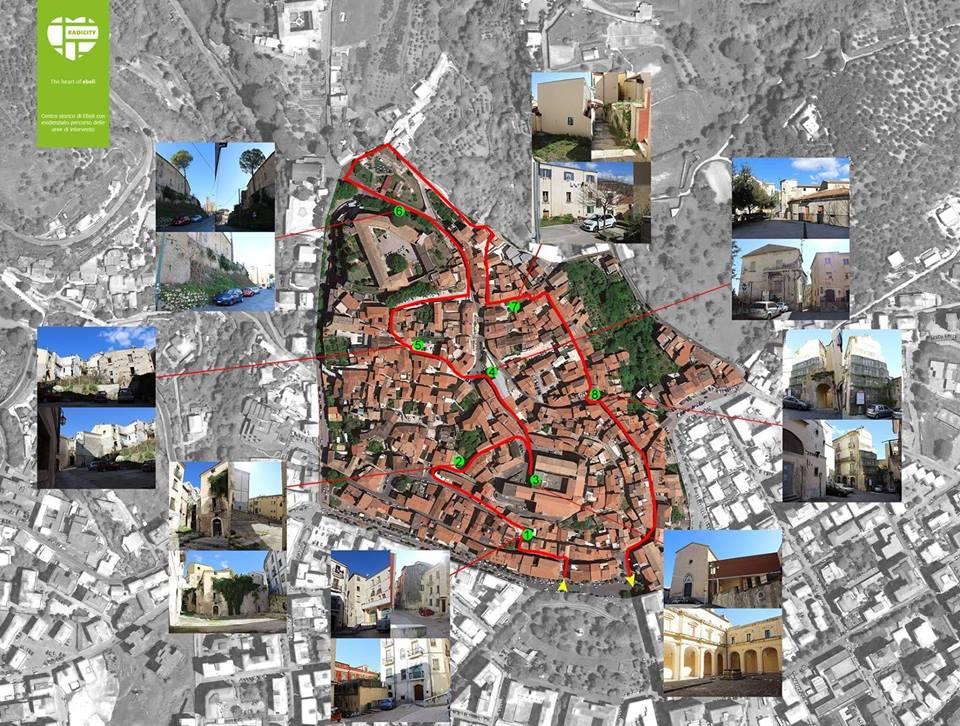 Rigenerazione urbana centro antico eboli