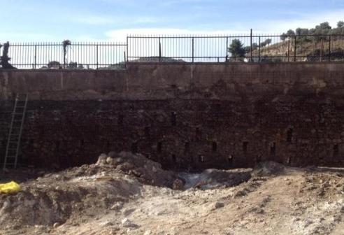 Ritrovamento-Mura a secco-Eboli-Centro storico