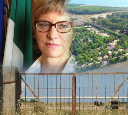 Roberta-Pinotti-Poligono-di-Tiro-Foce-Sele-Cancello-Poligono
