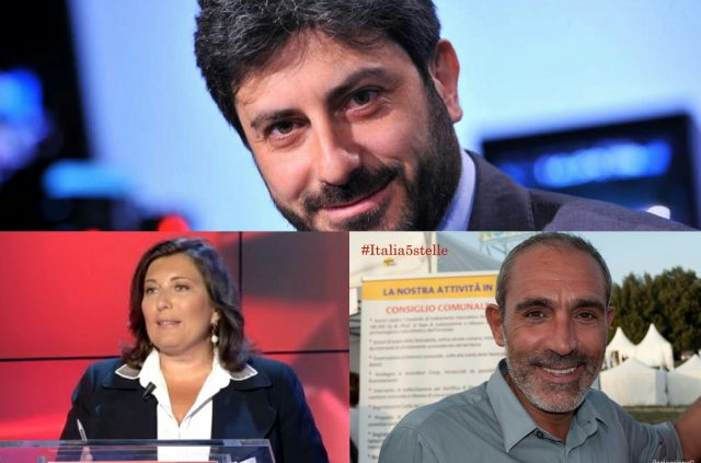 Roberto Fico-Valeria Ciarambino-Tommaso Malerba