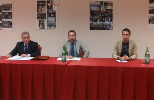 Roberto Napoli-Andrea Lilite-Fabiano Sole-Conferenza stampa-Techmania