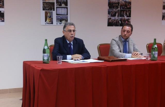 Roberto Napoli-Andrea Milite-Conferenza stampa-Techmania