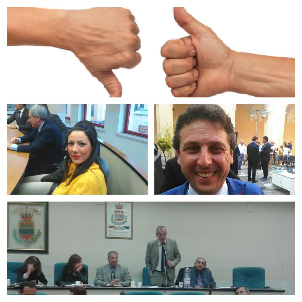 Rosa Altieri-Vittorio Bonavoglia-Massimo Cariello-Consiglio Comunale -Incompatibilità