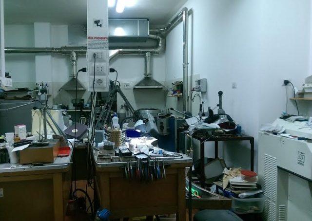 Rosmundo Giarletta-laboratorio