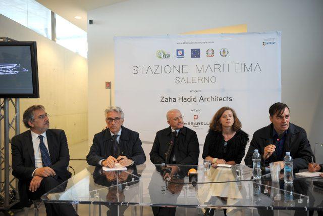 Salerno - Inaugurazione Stazione Marittima - 25 Aprile 2016