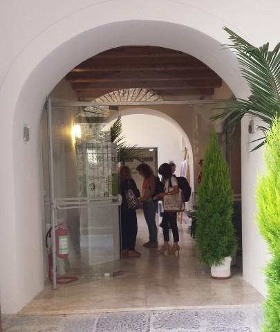 Salerno-Palazzo Fruscione-Ingresso