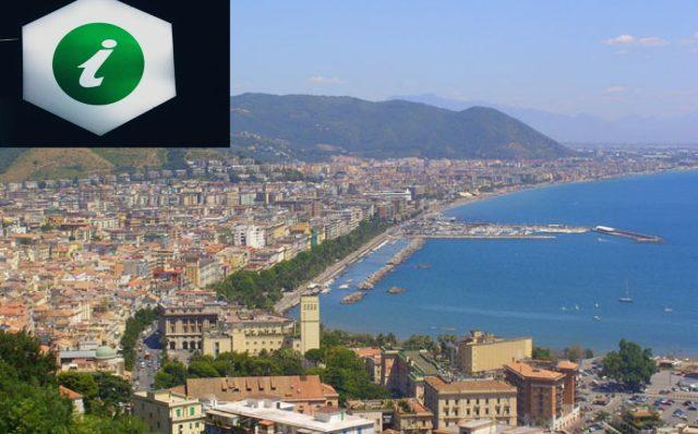 Salerno vista dall'alto-info