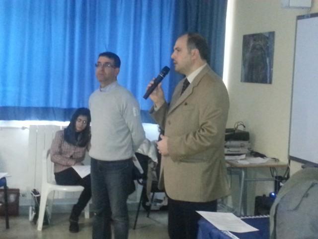 8979cd7ccd91 Alunni della Scuola Media di Olevano a lezione di Legalità ...