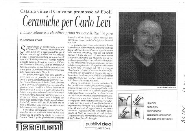 1° Concorso Carlo Levi 3