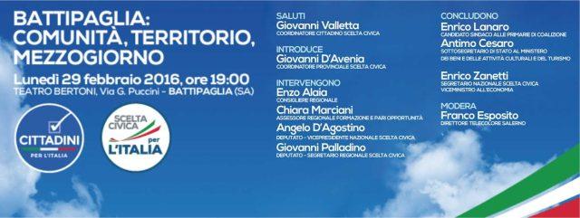 Scelta Civica-Zanetti-Battipaglia