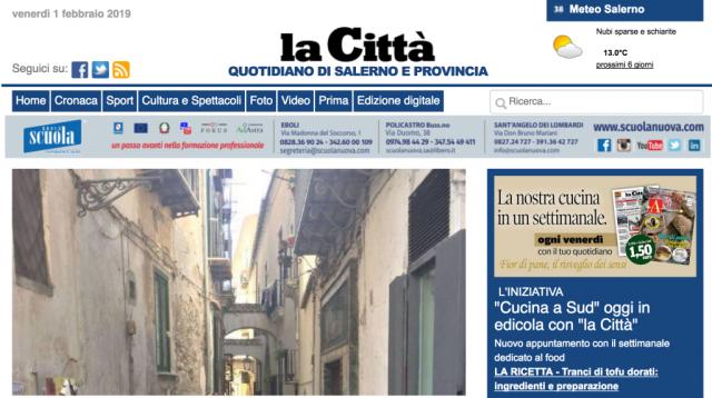Sciopero alla Città di Salerno