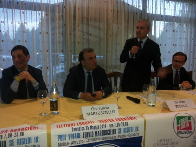 Schiano di Visconti-Fulvio Martusciello-Vito Busillo-Pierluigi Merola.