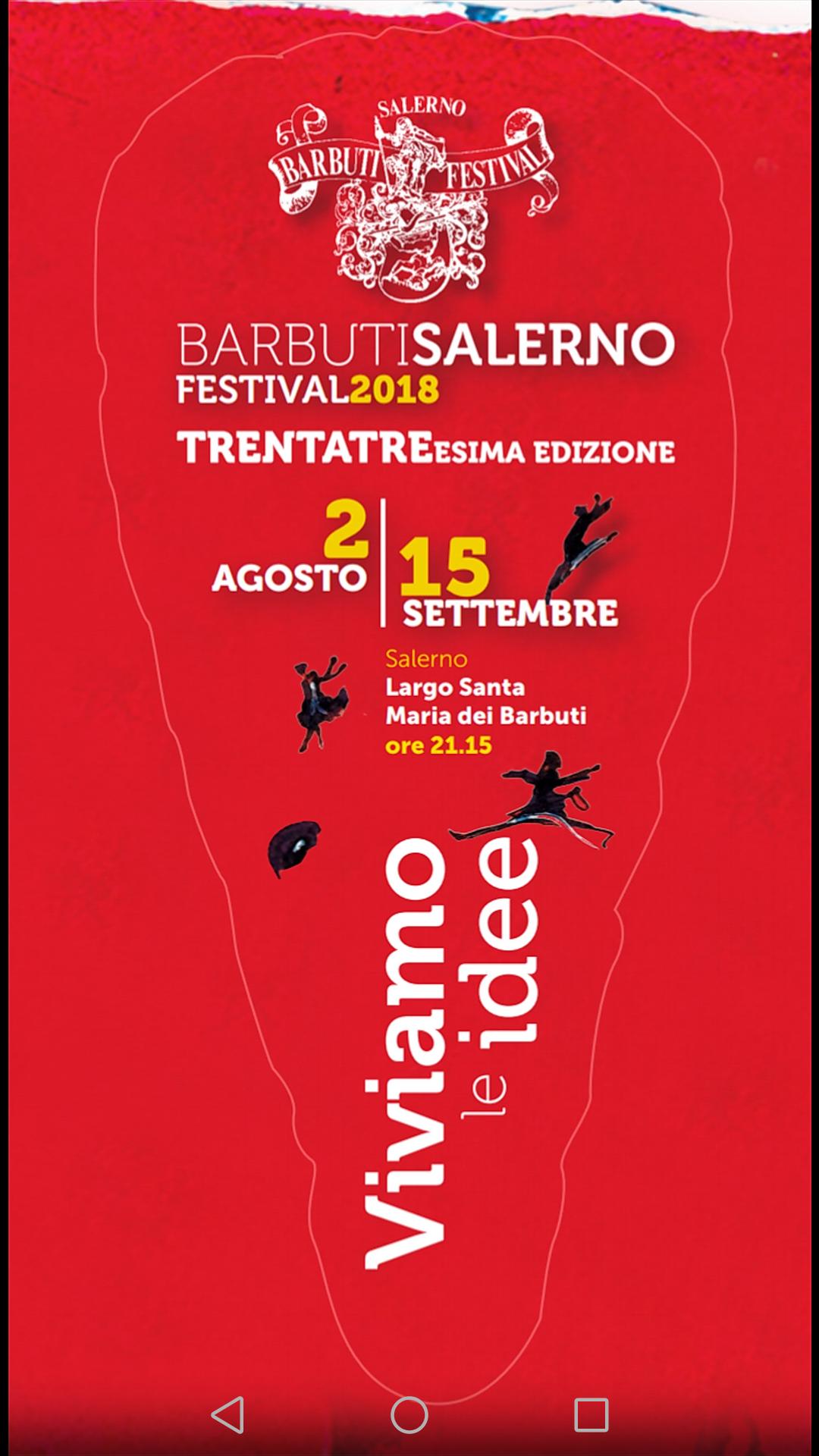 Barbuti Festival 2018 Salerno