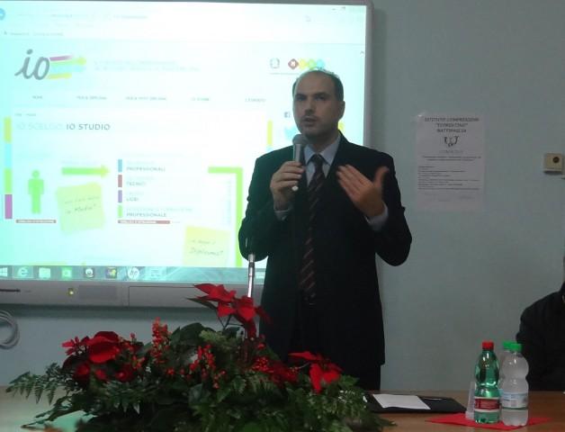 Scuola Fiorentino-Orientamento scolastico-Dario Palo