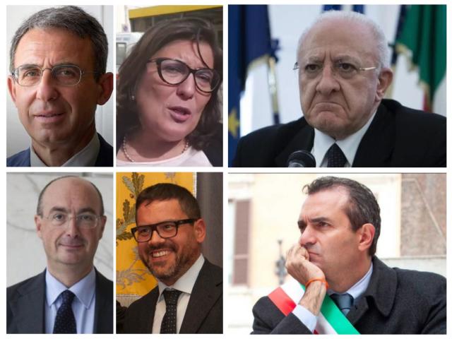 Sergio-Costa-Ciarambino-De-Luca-polo-Russo-Tommasetti-Demagistris